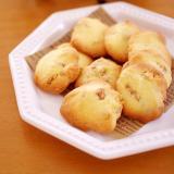 混ぜて簡単☆食べやすいクルミ入りサクほろクッキー