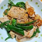 豚肉とピーマンのニンニク炒め