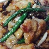 鶏肉と厚揚げのポカポカ煮
