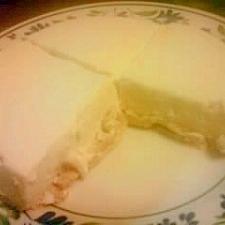 やわらかレアチーズケーキ!!