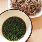 つけ麺風蕎麦