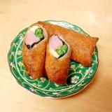 魚肉ソーセージで簡単春巻