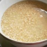 よりヘルシーに発芽玄米の塩麹