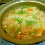 寒い日には温ったか★キムチ鍋★