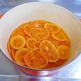 オレンジのシロップ煮