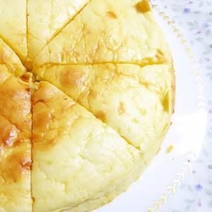 もちもちチーズケーキ!