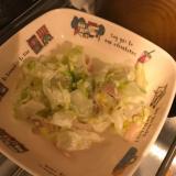白菜のめんつゆマヨサラダ
