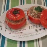 食卓を彩る★トマトのファルシー