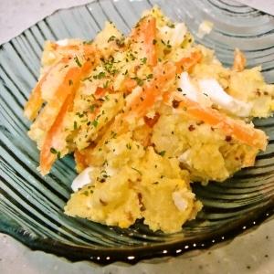 にんじんとゆで卵のマスタードサラダ