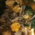離乳食 ほうれん草とえのきと玉子のかぼちゃスープ