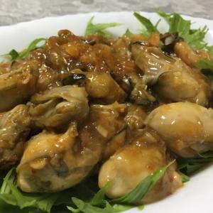 ピリッと★牡蠣の味噌炒め★
