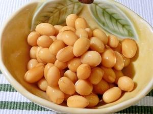 水煮大豆を浸すだけ「ポン酢大豆」