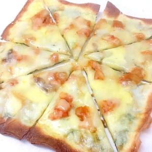 春巻の皮で作る‼︎和風キムチピザ