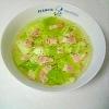 レタスの洋風スープ