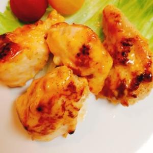 冷めても美味しい♥鶏胸肉のオーロラソースレタス包み