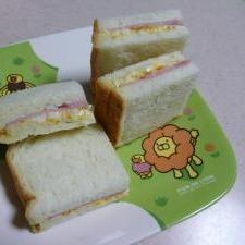 ☆我が家のハムタマゴサンドイッチ☆