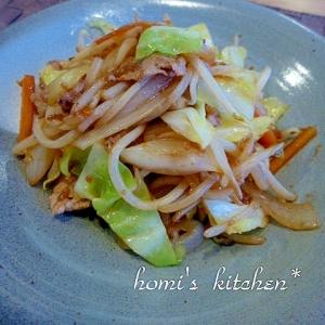 しょうゆ麹で簡単野菜炒め