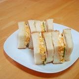 タルタルソースで簡単卵サンド