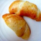こねないパン・冷蔵庫で発酵の塩バターロールパン