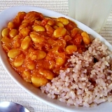 マクロビオティック 大豆のカレー