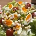 ★レタスとゆで卵のミモザ風サラダ☆