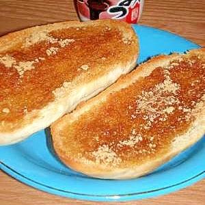 和菓子の味わい♪黒蜜きなこパン