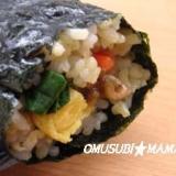 キンパ風!胚芽米で丸かぶり寿司