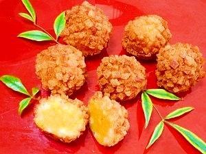 バターナッツ南瓜☆まん丸コロッケ