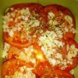 真夏に美味しい!オニオンドレッシングのトマトサラダ
