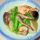 たつくりのリメイク♪大根と椎茸のたつくり煮