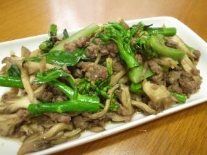 カイラン菜のオイスター炒め