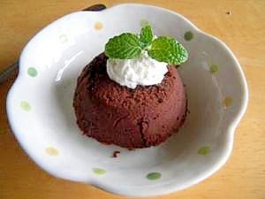 生チョコみたいに濃厚なチョコレートケーキ