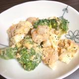 ブロッコリーと海老のサラダ