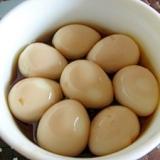 うずらの卵のしょうゆ漬け