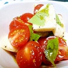 ミニトマトのはちみつカプレーゼ