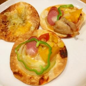 美味しくてヤミツキ☆餃子の皮deピザ!!