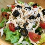 サラダチキンで簡単イタリアンサラダ