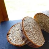 さくらんぼ酵母のフランスパン専用粉でライ麦パン