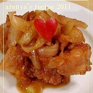 チキンのはちみつりんご煮