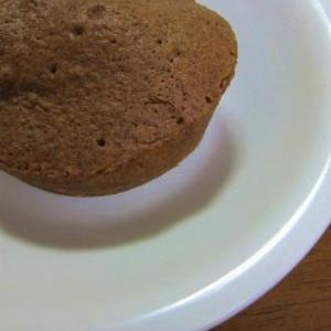 簡単おやつ 調整ココアとHMでレンジ蒸しパン