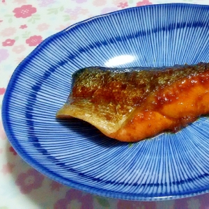 鮭のスタミナ煮++