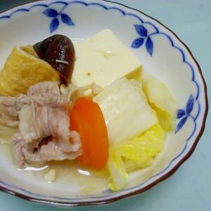 簡単で美味しい☆本格ちゃんこ鍋