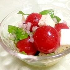 Italian☆ミニトマトのカプレーゼ