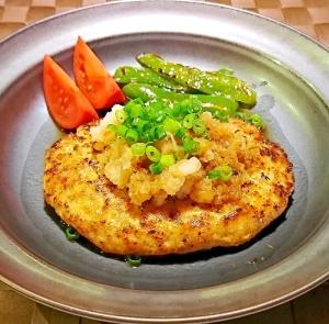 おろしポン酢で 豆腐ハンバーグ