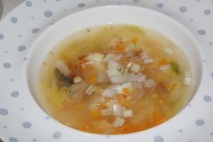 *鱈とマロニーちゃんのあったかスープ*