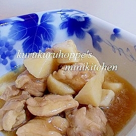 長芋が口でとろける☆長芋と鶏の煮物