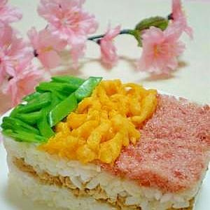 ちらし寿司がおすすめ「ひなまつり」の献立