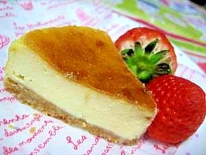 失敗しない★しっとり★ベイクドチーズケーキ