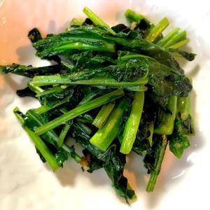 のらぼう菜の炒めもの*