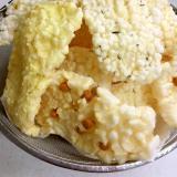 芯まで柔らかい かき餅の揚げ方